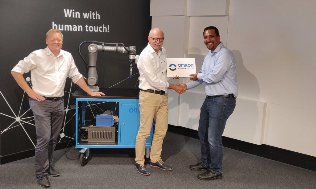 robofact AG ist Omron Solution Partner